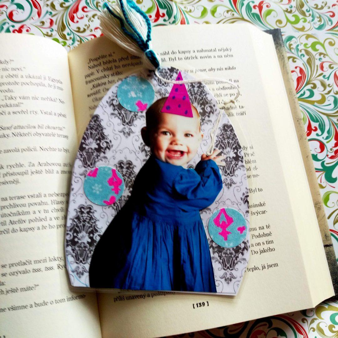 Tip na rychlý dárek od dětí aneb originální záložky do knihy